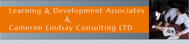 Learning & Development Associates                     & Cameron Lindsay Consulting LTD